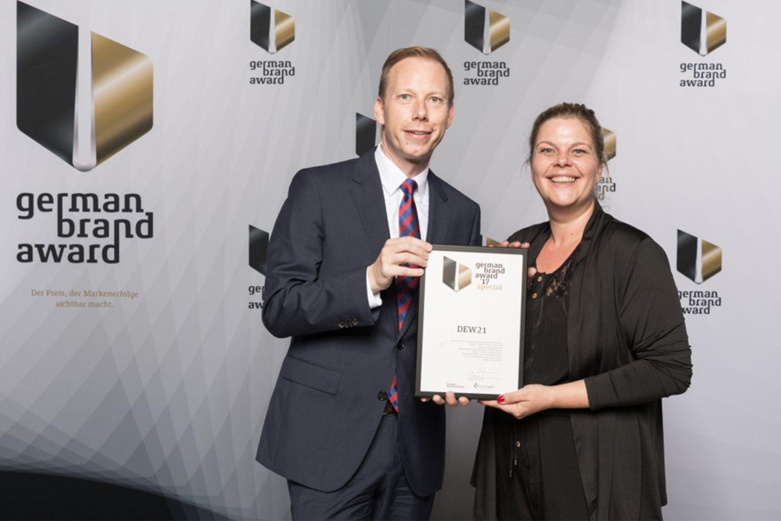 German Brand Award DEW21.
