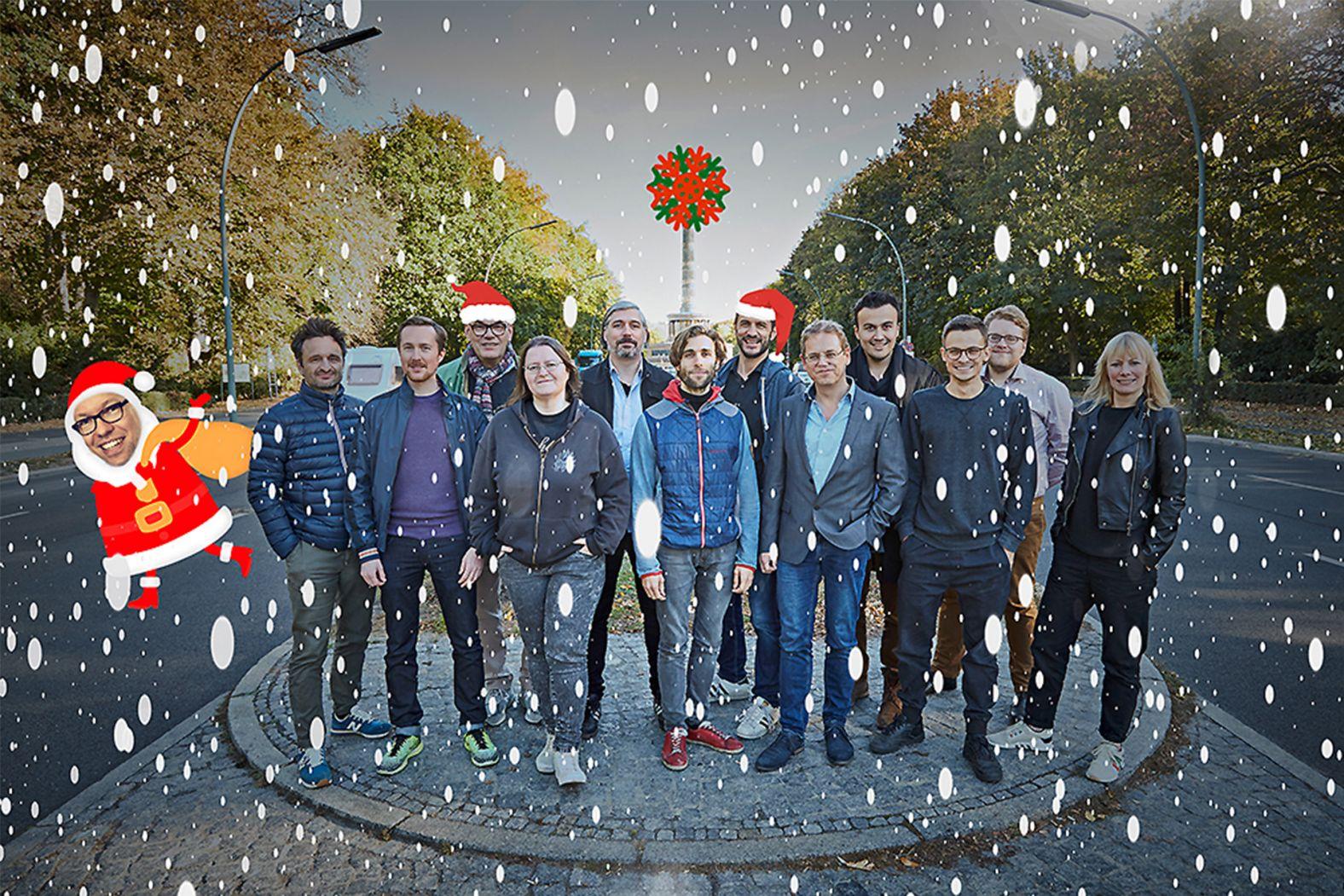 WESOUND Team Weihnachten
