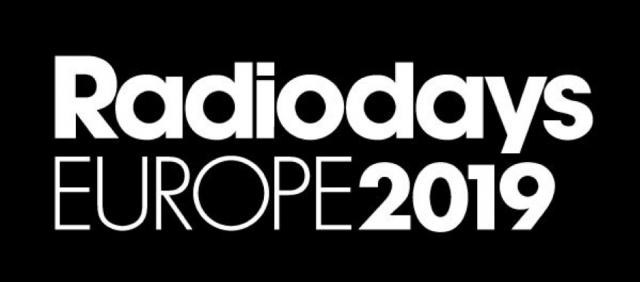 Logo der Radiodays Europe 2019 – Konferenz zur Radiolandschaft