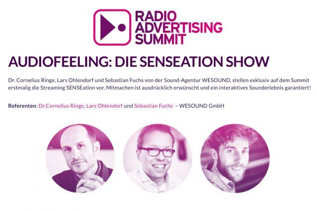 WESOUND beim Radio Advertising Summit