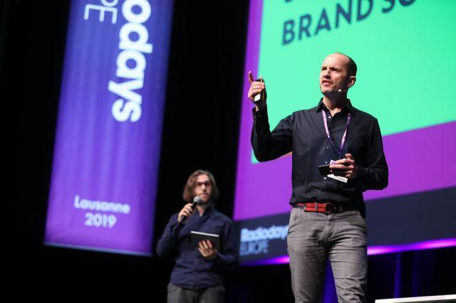 Cornelius und Sebastian Live on Stage bei den Radiodays Europe 2019