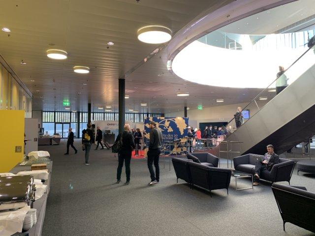 Lobby der Radiodays Europe 2019