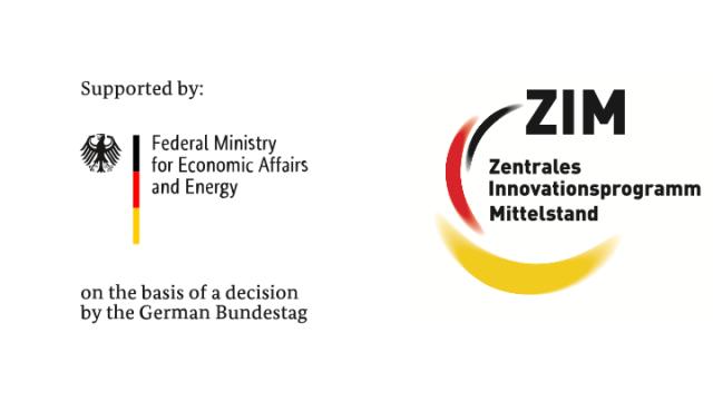 Logos BMWi & ZIM