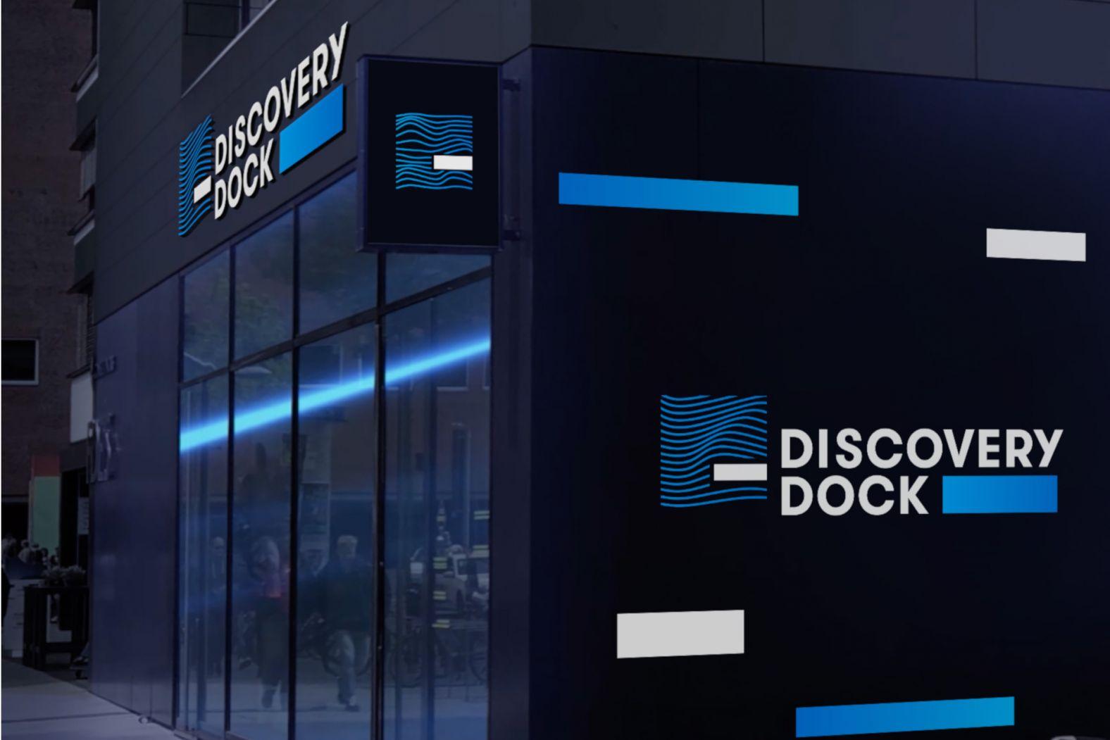Bild des Discovery Docks