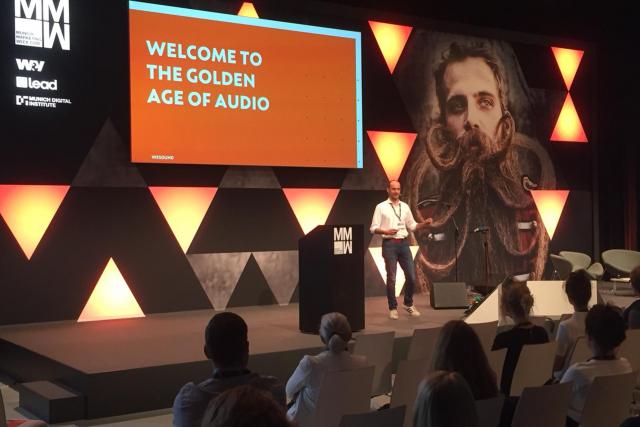 Cornelius Ringe bei der Munich Marketing Week 2019